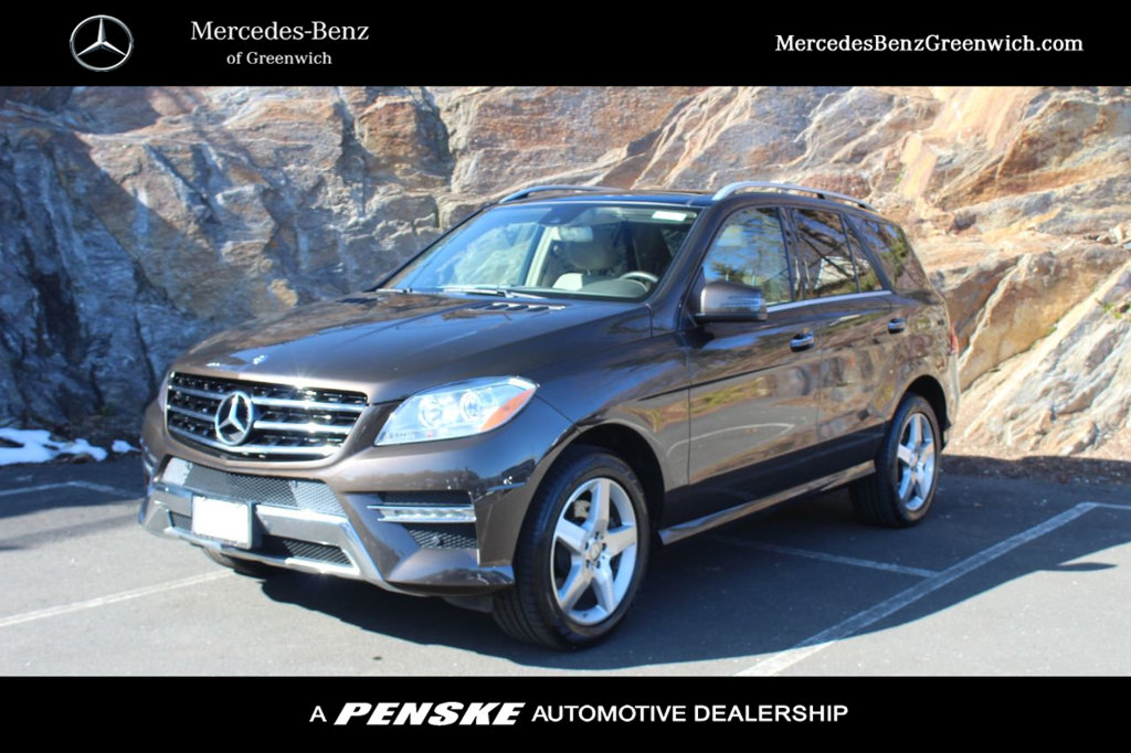 Certified Pre-Owned 2015 Mercedes-Benz M-Class 4MATIC® 4dr ML 400