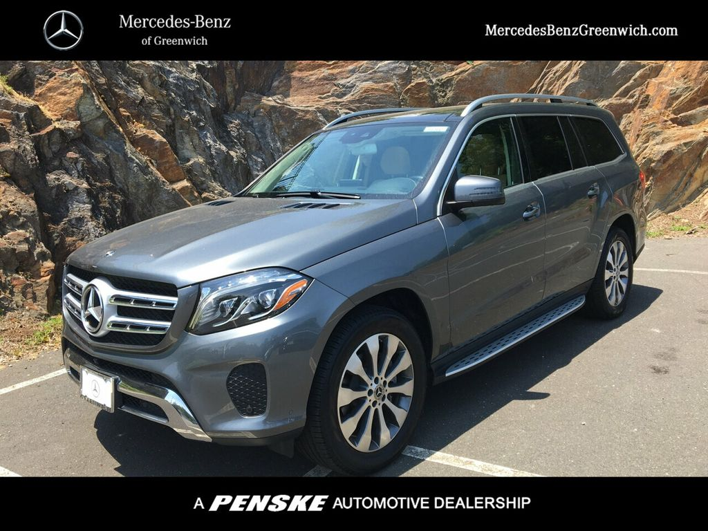 Certified Pre-Owned 2018 Mercedes-Benz GLS GLS 450 4MATIC® SUV