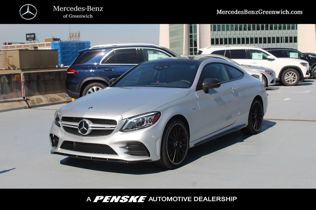 New 2020 Mercedes-Benz C-Class AMG® C 43 4MATIC® Coupe