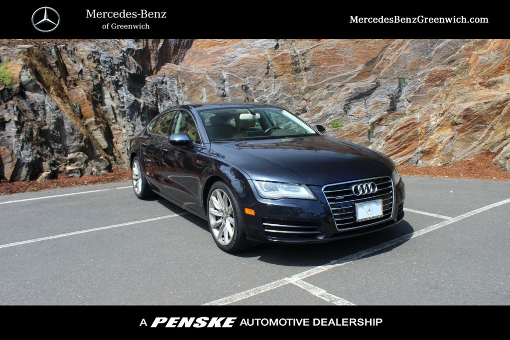 Pre-Owned 2013 Audi A7 4dr Hatchback quattro 3.0 Premium Plus