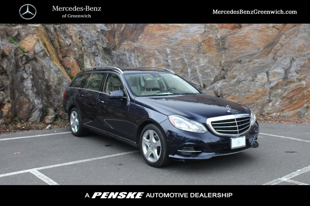 Pre-Owned 2014 Mercedes-Benz E-Class 4dr Wagon E 350 Sport 4MATIC®
