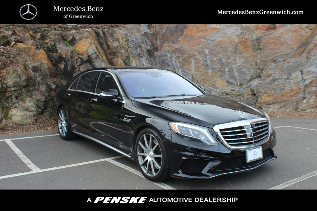 Pre-Owned 2014 Mercedes-Benz S-Class 4dr Sedan S 63 AMG® 4MATIC®
