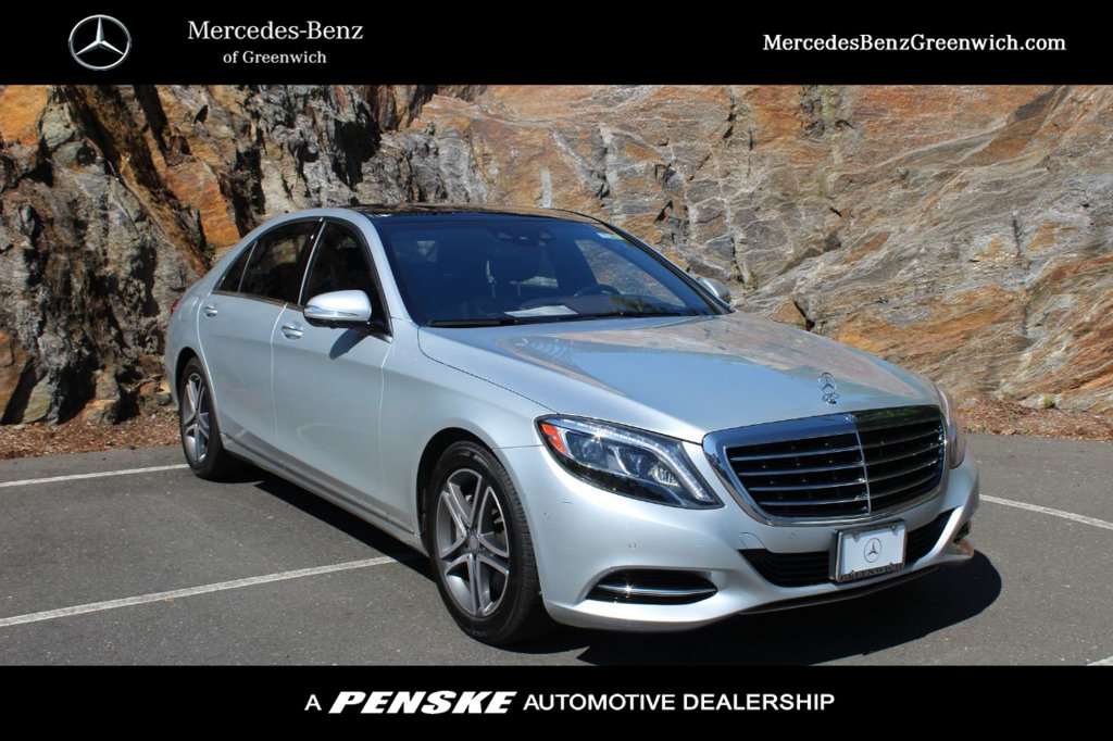 Certified Pre-Owned 2016 Mercedes-Benz S-Class 4dr Sedan S 550 4MATIC®