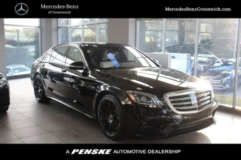 New 2020 Mercedes-Benz S-Class AMG® S 63 4MATIC+ Sedan